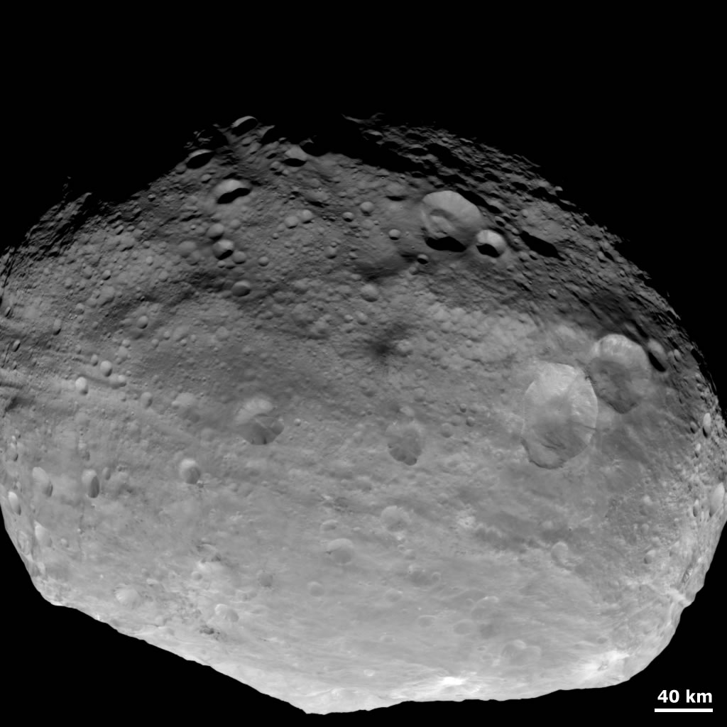 Asteroid 4 Vesta - Pics about space